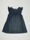 Blue Denim Baby Girl Frock