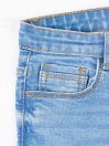 Light Blue Washed Slim Fit Jeans