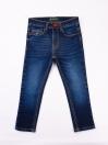 Blue Medium Washed Slim Fit Jeans