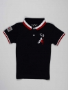 Navy Blue Baby Boy Polo Shirt