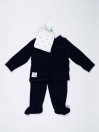 Blue Baby Boy Pajama Suit