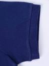 Big Kids - Cotton Mesh Polo Shirt - Blue