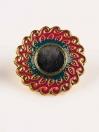 Antique Gold Plated Necklace Set