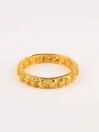 Dazzling Gold Plated Bangle (Kara)