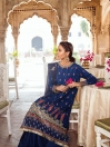 Vasl-e-Meeraas Embroidered Bemberg Raw Silk 3 Pcs Unstitched Suit
