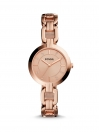 Kerrigan Three Hand Rose Gold Tone Ladies Watch