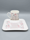 Serving Dish with Cup