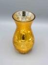 Glass Vase Golden
