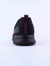 MEN'S TRAINING SHOE BLACK & BURGUNDY