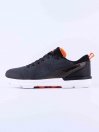 MEN'S TRAINING SHOE BLACK-GRAY-ORANGE