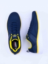 MEN'S TRAINING SHOE Navy-yellow