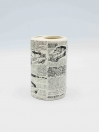 Bathroom Set Newspaper Design 4Pcs Set