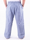 White and Blue Check Cotton Baggy Pajamas