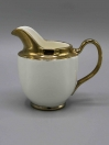 17 Pcs Solid Tea Set with Golden Lining