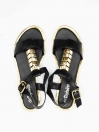 Kitty Women's Black Sandal