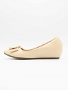 Aleeza Apricot Women Pumps