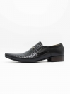 Raftar Black Men Formal Shoes