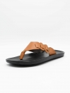 Kumrat Black & Tan Men Flip-Flop