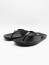 Kumrat  Black Men Flip-Flops