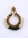 Gajra Kundan Earrings