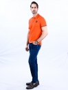 Nabeel & Aqeel Spartan The Gayle Polo Shirt Polo Orange