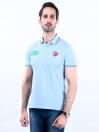 Nabeel & Aqeel Spartan The Gayle Polo Shirt Polo Ice Blue