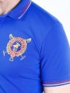 Nabeel & Aqeel Spartan The Shandur 31 Polo Shirt Royal Blue