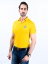 Game Of Spartans Polo Shirt Yellow