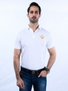 Nabeel & Aqeel Spartan Signature Polo Shirt White