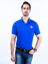 Game of Spartans Polo Shirt Blue