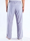 Blue and Red Stripe Check Cotton Baggy Pajamas