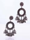 Round Multi Jhumki Earrings