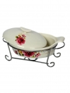 Solecasa Oval Dish With Lid 10 inch