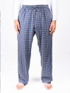 Blue Check Flannel Relaxed fit Pajamas for Winter