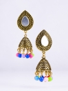Meenakari Dangler Earrings