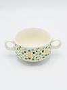 Star Art Soup Set Multi Color Ceramics 22Pcs with Metal Stand