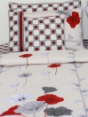 Red Velvet Comforter Set