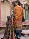 Rust 2 Piece Khaddar Suit