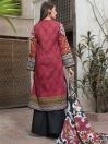 Red 2 Piece Khaddar Suit