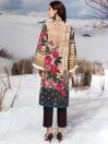 Beige Winter Cotton Shirt