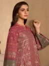 Red Slub Khaddar Shirt