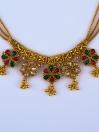 Floral Chain Kundan Set