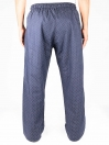 Navy Printed Cotton Blend Relaxed Pajamas