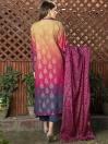 Multi Colored Jacquard 2 Piece Suit