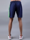 FIREOX Blue & Parrot Green Polyester Training Tank Top & Shorts for Men