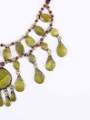 Lime Green Three Layered Necklace