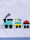 Whistling Train Cot Set