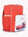 RED & WHITE CAR BACKPACK FOR KIDS