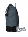 GREY ROLLING BACKPACK