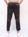 FIREOX  Black & Grey Polyester Active-wear Trouser for Men